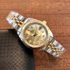 即決・送料無料!ロレックス・デイトジャストタイプ レディース腕時計・ゴールド×コンビ