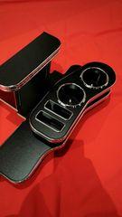 ハスラー新品フロントテーブルレザーブラック高級最安即納代引き