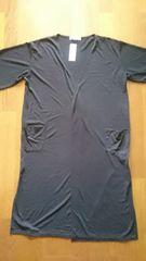 大きいサイズ スパイラルガール 半袖 薄めロングカーディガン