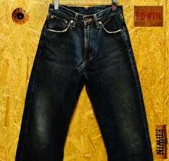 W28(76cm)◆廃盤◆エドウィン505X赤耳ビンテージデニム股下70cm