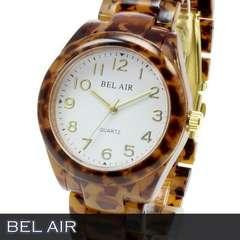 人気★べっ甲柄 ユニセックス 腕時計 OSD54WT