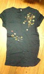 UNIQLO ユニクロ 和柄 Tシャツ