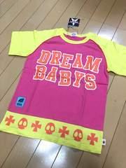 新品 ドリームベイビーズ 半袖Tシャツ 140  ドクロスカル