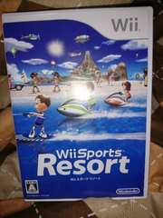 Wii!箱説あり!Wiiスポーツリゾート!ソフト!
