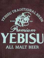 サッポロ エビスビール YEBISU デザイン トートバッグ BAG 鞄 ワインレッド