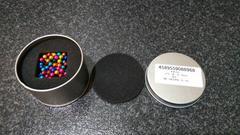 本物 超美品 ネオジム磁石 パワーボール カラー 立体パズル 5mm
