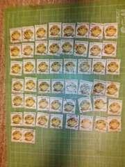 韓国W60切手×50枚(壺)♪