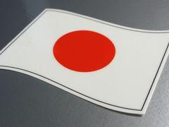 w2 日本国旗ステッカー2枚set☆日章旗 シール即買☆