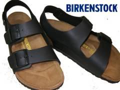 ビルケンシュトックBIRKENSTOCK新品MILANOミラノ034791黒43