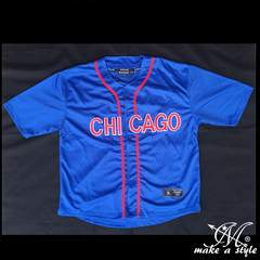MLB シカゴ カブス BBシャツ ベースボールシャツ CHICAGO436CUBS
