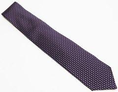 美品 BVLGARI ブルガリ ネクタイ 紫系 シルク100%