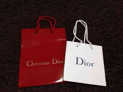 クリスチャンディオールのショップ袋   2枚セット