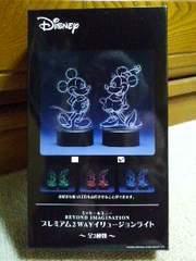 ミニーマウス ディズニー プレミアム2WAYイリュージョンライト