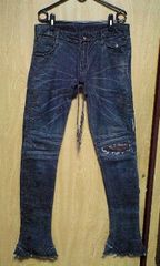 KMRIIケムリ BLACK SHDW DENIM/INDIGO 2