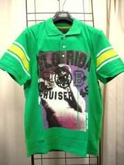 【BASQUAIT】【未使用品】男性用グリーンの半袖ポロシャツ