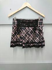 TRALALA☆太プリーツチェック柄スカート