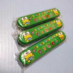 ●新品●けろけろけろっぴの大冒険 缶ペンケース 3個組★