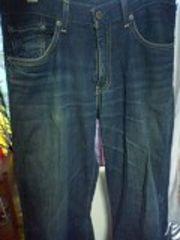 リーバイス532〓ディープインディゴ色落ちジーンズ