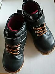 """Oshkosh…""""☆スパイク付ブーツ16�p黒"""