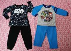 子供用パジャマ2点セット☆妖怪ウォッチ/STAR WARS/100cm