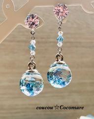 海の夢宝石ピアス