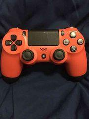デュアルショック4 PS4 コントローラー レッド