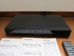 東芝 ブルーレイレコーダー 2番組同時録画REGZA DBR-Z110