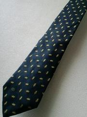 VALENTINO ロゴネクタイ ヴァレンチノ イタリア製 柄 青 シルク