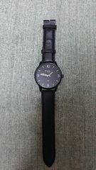 ★雑誌付録★ヘッドポーター プラス ブラックメタル仕様 BIGサイズ 腕時計