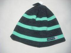 mb854 男 QUIKSILVER クイックシルバー リバーシブル ニット帽