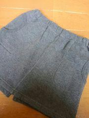 ☆新品同様☆コムサデモード☆スエットスカート☆100