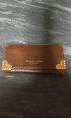 サマンサタバサ茶色革製3連キーケース