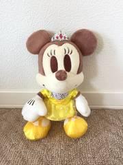 ディズニー ミニーマウス ティアラ付きイエロードレスぬいぐるみ 23cm