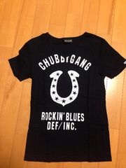 チャビーギャングTシャツ黒M