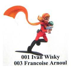 サイボーグ009 ヴィネット 001 イワン・ウイスキー&003 フランソワーズ・アルヌール フィギュア