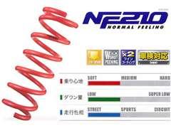 タナベ ダウンサス NF210 N BOXカスタム JF1