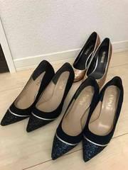 新品☆ESPERANZA/エスペランサ☆靴パンプス/23.0cm☆3足set