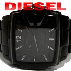 良品 1スタ★DIESEL ディーゼル【超大型】極太 メンズ腕時計