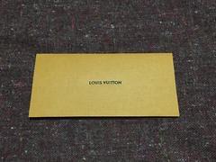 LOUIS VUITTON商品説明書用封筒