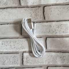 iPhone 充電器 シルバー ライトニング端子 2M 新品!