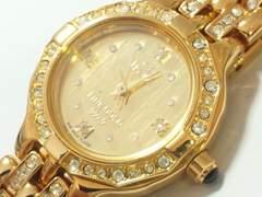 10292/Klaeuse/FINEGOLD999.9フルゴールド高級感漂うレディース腕時計★