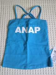 新品ANAPkidsブルーバッククロスロゴキャミ110