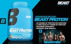 高品質 ビースト 混合 プロテイン 特大2kg 5種のタンパク質+BCAAアミノ酸配合