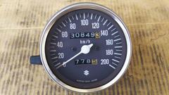 GS400実働スピードメーター&ロアカバー作動確認済良品GT380Z400FXCBX400タコ