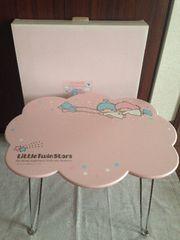 キキララ未使用雲形テーブル☆サンリオ☆ミニテーブル