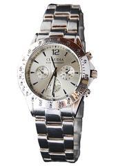 年代を選ばない♪クセの無い白★メンズ腕時計★Club Face2