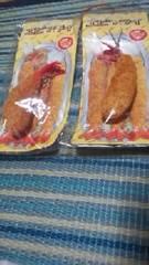 美味しそうな食品サンプルストラップ『エビフライ2本』