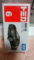 トミカ 旧6 中国販売品 販売終了品 アウディR8 初回箱 未開封 新品
