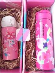 桜Box入り 新品 スターバックス SAKURA さくら 桜 ステンレスタンブラー 水筒