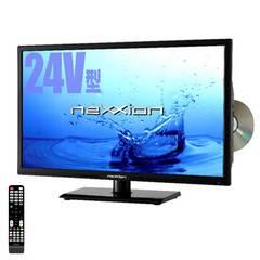 DVDプレイヤー内蔵 24V型地上デジタルハイビジョンLED液晶テレビ